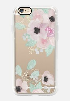 Casetify iPhone 7 Case and Other iPhone Covers - Anemones + Roses by quinn luu | #Casetify