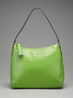 Southport Ave Aureila Hobo by kate spade new york - Kermit green, pretty!