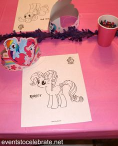 My Little Pony Coloring Pages - eventstocelebrate.net