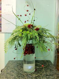 Christmas floral idea