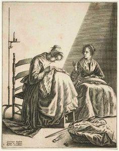 1649 Dutch: Seamstresses