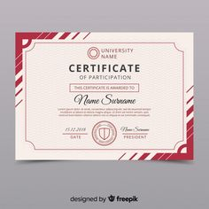 Academia Fun Diy Crafts fun diy crafts to do at home when bored Certificate Layout, Certificate Background, Free Certificates, Certificate Design Template, Diy Crafts To Do At Home, Cover Page Template, Certificate Of Appreciation, Print Templates, Brochure Design