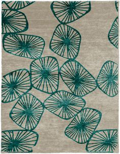 Charleston Hand Knotted Tibetan Rug from the Tibetan Rugs 1 collection at Modern Area Rugs
