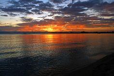 cool Sunrise over Lake Malawi
