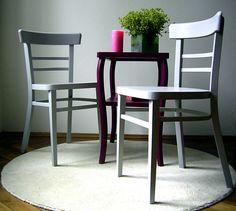 2 formschöne Holz-Stühle, Buche massiv von DIE EINRICHTEREI auf DaWanda.com