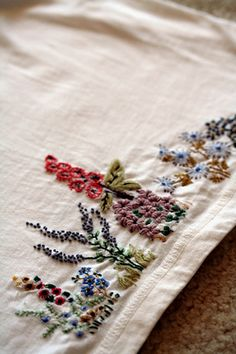 Embroidery by mellow_stuff, via Flickr