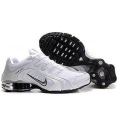 240265 014 Nike Shox Navina SI White Black J03007 Cheap Nike 258d49d16