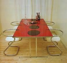 70's furniture - Google Search 70s Furniture, Mid Century Furniture, Outdoor Furniture, 60s Kitchen, Kitchen Dining, Dining Table, Dining Room, Home Interior Design, Interior And Exterior