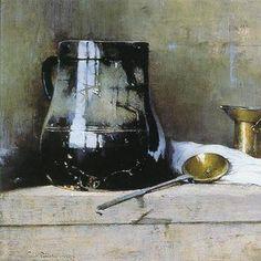 Emil Carlsen Still Life with Black Jug, 1931