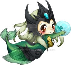 Chibi Nami - League of Legends by linkitty on DeviantArt