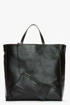 fc5e7a79e Saint Laurent Suede Reversible Tote Bag