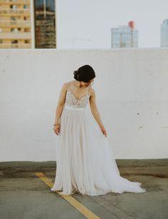 Beautiful Watters wedding dress