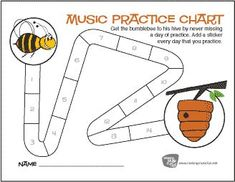 Piano Lessons For Kids, Violin Lessons, Music Lessons, Music Theory Games, Music Theory Worksheets, Piano Practice Chart, Music Flashcards, Piano Teaching, Teaching Tools
