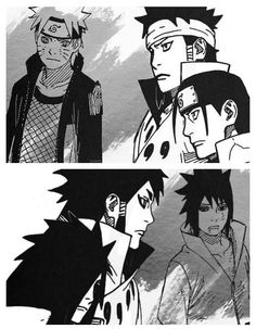 Naruto and Sasuke the reincarnations of Ashura and Indra