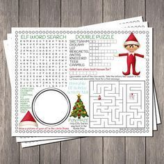 27 free holiday printables - Pretty My Party Check out these 27 Free Holiday Printables and save money on decor, gift wrap, gift tags, and more. There's nothing better than free Christmas printables. Noel Christmas, Christmas Crafts For Kids, Winter Christmas, Holiday Crafts, Christmas Decorations, Party Crafts, Christmas Nativity, Christmas Party Kids Games, Christmas Word Search