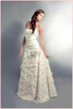 Felicita Design: Brautkleid Pelisa, Organza, Seide 100% Hochzeit Brautmode