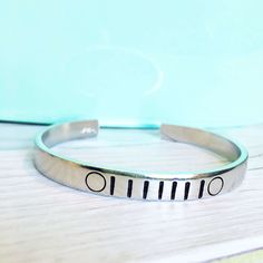Jeep Bracelet - Jeep Gift - Hand Stamped Cuff by SALTEDBYJEN on Etsy https://www.etsy.com/listing/472113382/jeep-bracelet-jeep-gift-hand-stamped