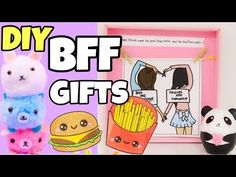 (3) 5-Minute Crafts To Do when you are BORED perfect gift ideas for best friends - YouTube