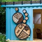 New Wild Garden - a pretty home for bees & wasps