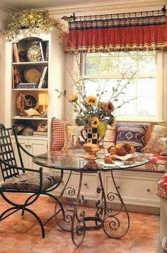 Love French Country Blues Yellows And White Especially In The Kitchen For The Home Pinterest Country Blue And Blue Yellow