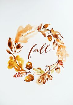 22 Free Fall Printables For Your Home That Perfectly Show Off The Spirit Of Autumn Freetime Activities, Autumn Aesthetic, Illustration, Happy Fall Y'all, Hello Autumn, Autumn Inspiration, Fall Season, Fall Halloween, Autumn Leaves