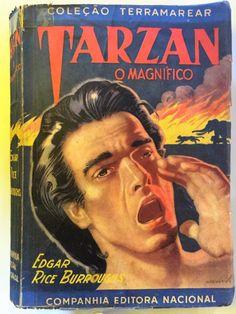 Tarzan, o Magnífico, Edgar Rice Burroughs Tarzan Book, Scientists, Writers, Books, Movie Posters, Rice, Movies, Passport, Libros