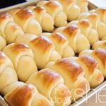 Delicious And Easy Dinner Rolls - I'm always in charge of the bread for the family, I made these for Easter and they said they were the best yet :] Bread Recipes, Cooking Recipes, Cooking Tips, Bacon Recipes, Meatball Recipes, Cooking Food, Shrimp Recipes, Soup Recipes, Chicken Recipes
