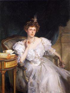 Margherita Goldsmid, later Mrs Raphael - John Singer Sargent - 1906