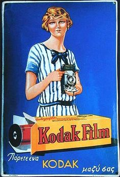 Remarkable Popularity Of Vintage Posters Vintage Advertising Posters, Old Advertisements, Vintage Ads, Vintage Posters, Vintage Photos, Girls With Cameras, Old Cameras, Vintage Cameras, Antique Cameras