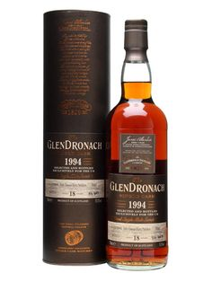 The May 2013 UK exclusive single cask release from Glendronach. Continuing their run of excellent PX puncheon matured whiskies, this was distilled in 1994 and aged for 18 years - an unashamed sherr...