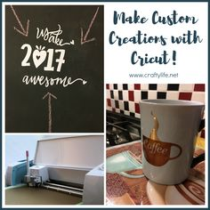 Make Custom Creations with Cricut! What you can make with your Cricut is limitless. AD #cricutmade via @craftymomj