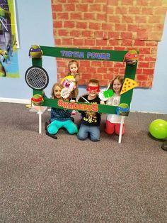 Ninja turtle photo booth