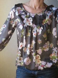 Blouse Pochee 8 made by aux fils de lau blogger