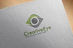 Creative Eye Logo Template by Mahamudul H. on Creative Market