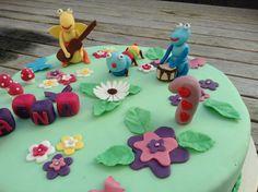 gâteau dessin animé bébé