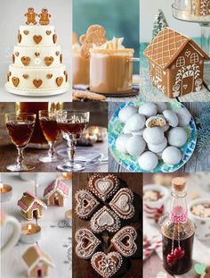 #Gingerbread #Wedding #Treats Mood Board from The Wedding Community