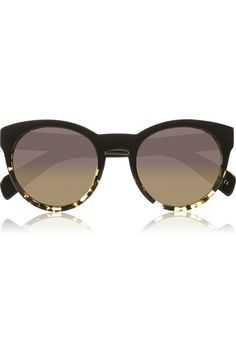 Alivia round-frame acetate sunglasses // Oliver Peoples