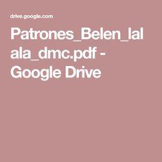 Patrones_Belen_lalala_dmc.pdf - Google Drive