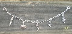 beach charm bracelet for sale  https://www.facebook.com/pages/Silly-Little-Charms/143717322372093