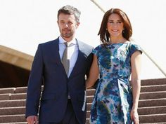Princess Mary and Prince Frederik of Denmark pictured in Australia During Danish Royal Tour 2011.
