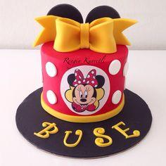 Minnie Mouse Birthday Cake / Minnie Mouse Doğumgünü Pastası