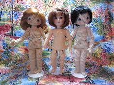 A Bleuette crochet doll - free crochet pattern