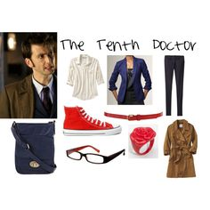 """Doctor Who Inspired: The Tenth Doctor"" by fairiepop83 on Polyvore"