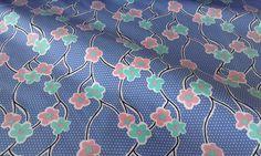 280**Květinky modrééé - softshell
