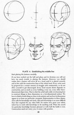 Drawing the head - Andrew Loomis