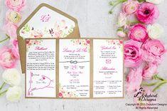 Rustic Floral Invitations Rustic Invitations, Floral Invitation, Wedding Invitations, Rustic Wedding, Design, Wedding Invitation Cards, Wedding Invitation, Flower Invitation