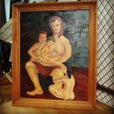 1958 Oil on Canvas $45 #Andersonville