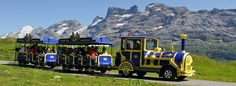 © melchsee-frutt.ch | Sind die Waden müde? Zwischen Melchsee-Frutt und Tannalp können Sie bequem mit dem Fruttli-Zug reisen.