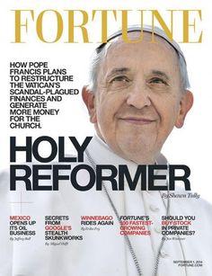 El Papa llegó ahora a la tapa de una revista de negocios – Infobae | AdriBosch's Magazine