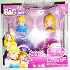 Squinkies Biginkies Disney Princess Series 1 by blip toys. $16.99. Disney princess biginkies cinderella and rapunzel. Series 1. Collect them all.
